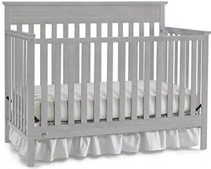 misty grey cribs