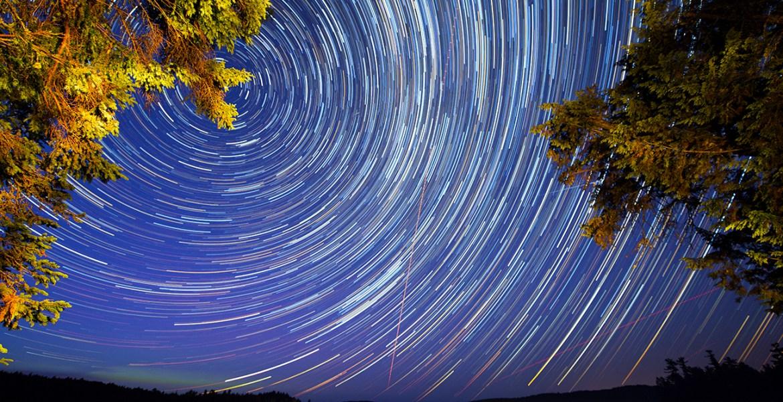 Algonquin Park Star Trails