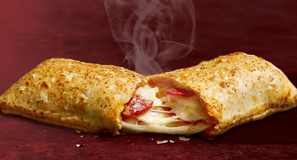 microwave hot pockets says hell yeah