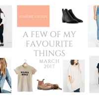 A FEW OF MY FAVOURITE THINGS : MARCH 2017