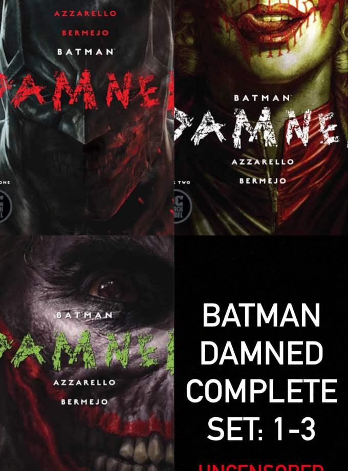 batman damned 1-3