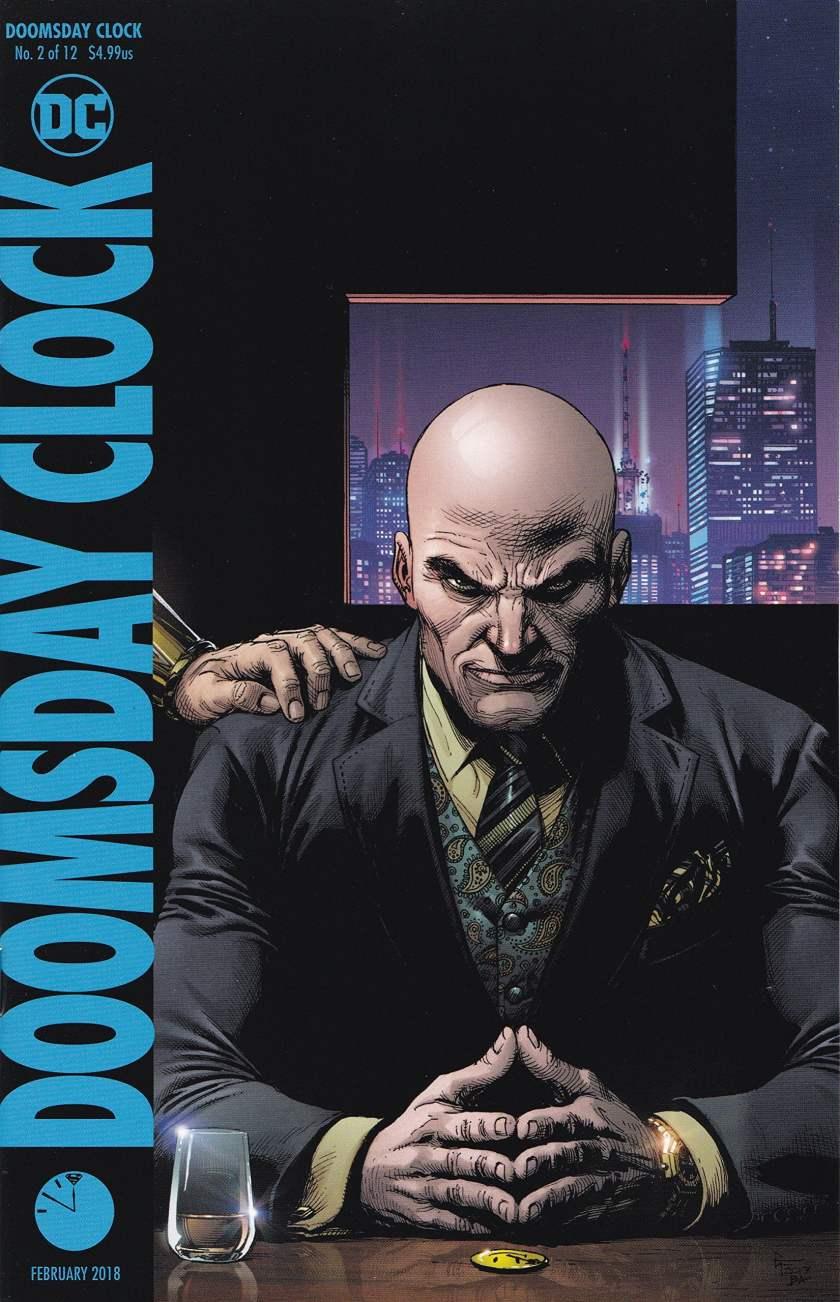 doomsday clock lex luthor cover