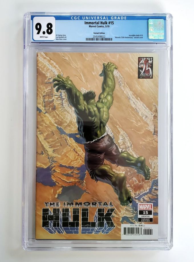 immortal hulk #15 marvels 25th anniversary variant