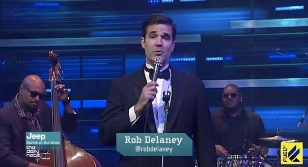 "From Twitter to TV: Enter Rob Delaney's Twit Lounge on Fuel TV's ""The Daily Habit"""