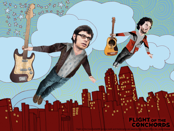 A Flight of the Conchords movie is no longer a rumor, but still lacks a script