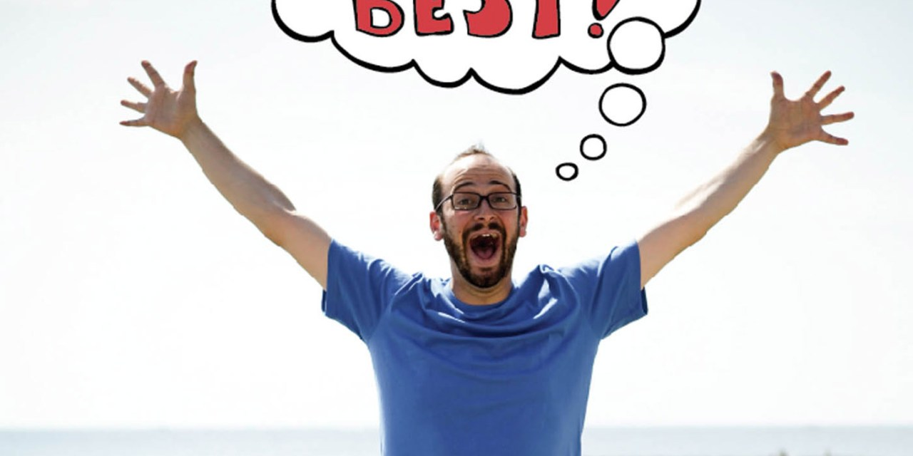 "Josh Gondelman, ""Everything's The Best!"""