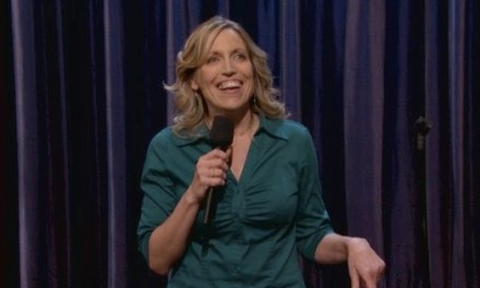 On Conan, Laurie Kilmartin reveals life as mother to a half-Mexican son