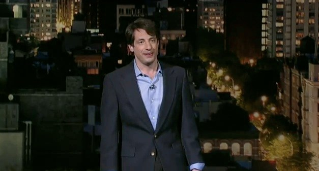 Dan Naturman on Late Show with David Letterman