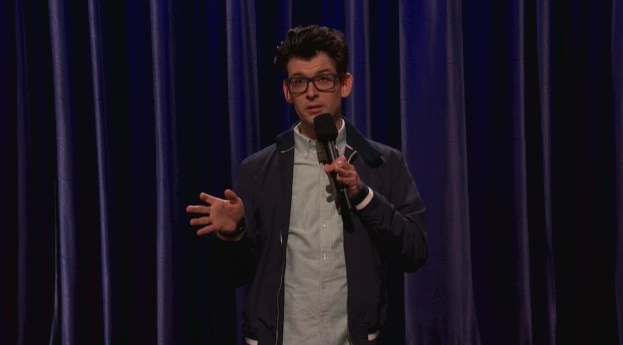On Conan, Moshe Kasher jokes about his intense childhood