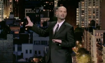 Ted Alexandro gets multilingual on Letterman