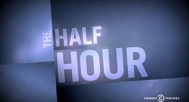 "Comedy Central's list of comedians taping ""The Half Hour"" in 2014"