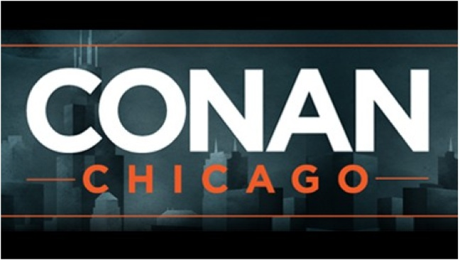Conan returning to Chicago for week of shows in June 2012, coinciding with Just For Laughs Chicago