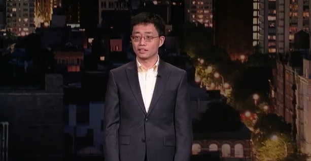 Joe Wong's return to the Late Show with David Letterman