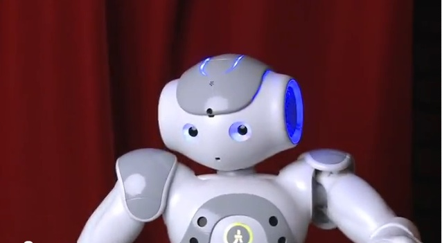 Is this the world's first robotic stand-up comedian?
