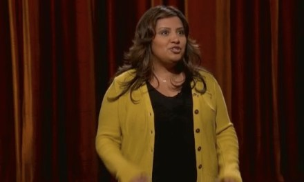 Cristela Alonzo's late-night debut on Conan