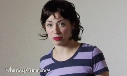 Melissa Villasenor's impersonation of Whitney Cummings