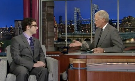 """We Made This Movie"" provides late-night TV crossover for Arthur Meyer on David Letterman, Jimmy Fallon"