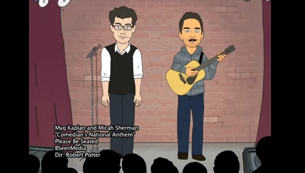 """Comedian's National Anthem,"" by Myq Kaplan and Micah Sherman [Music Video]"