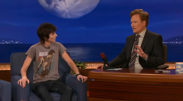 "Tig Notaro's very special interview with Conan; ""Live"" Largo CD available online"