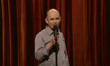 "Todd Barry gets ""Super Crazy"" on Conan"