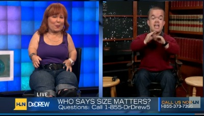 Brad Williams, Tanyalee Davis tell Dr. Drew about turning their own dwarfism into comedy careers