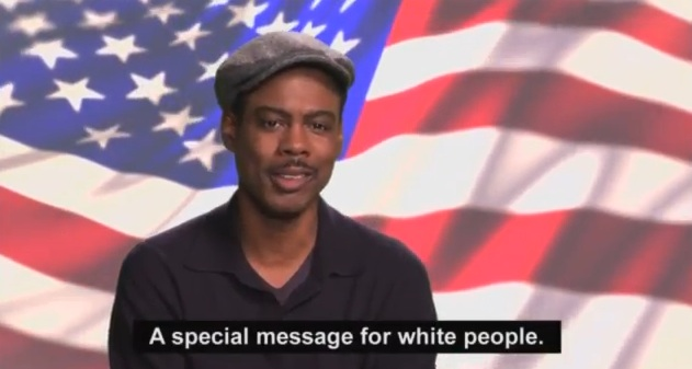 Chris Rock's message to white voters about President Barack Obama