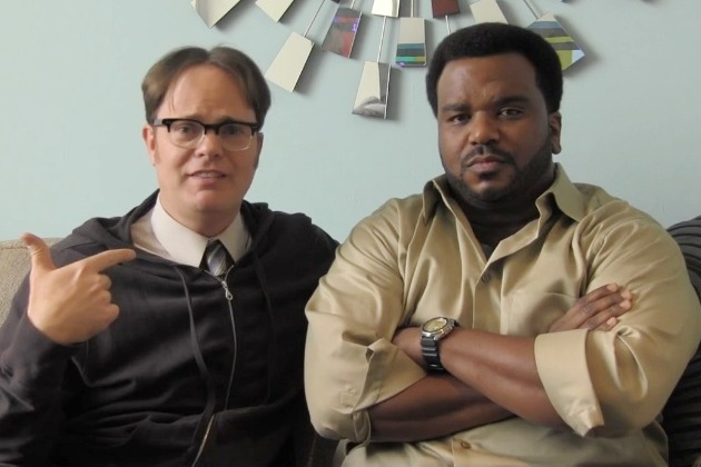 "Rainn Wilson, Matthew Perry both parody Angus Jones; call their comedies ""filth"""