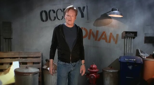 "TBS, Conan announce plans to air crowd-sourced re-enactment ""Occupy Conan"" episode, contest"