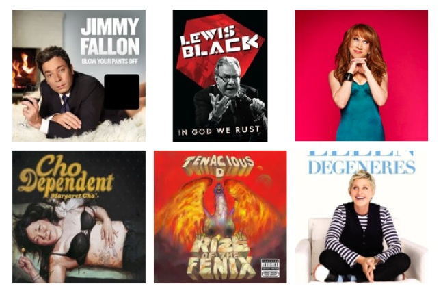 Comedians nominated for the 55th annual Grammy Awards