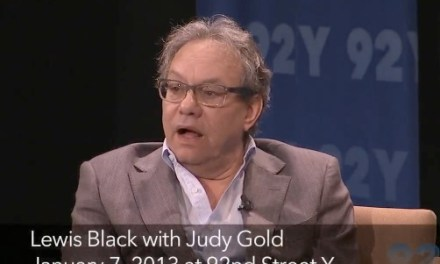 At 92Y, Lewis Black offers new proposal for gun control: One gun per penis