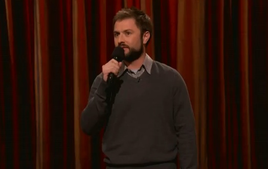 Adam Cayton-Holland's late-night TV debut on Conan