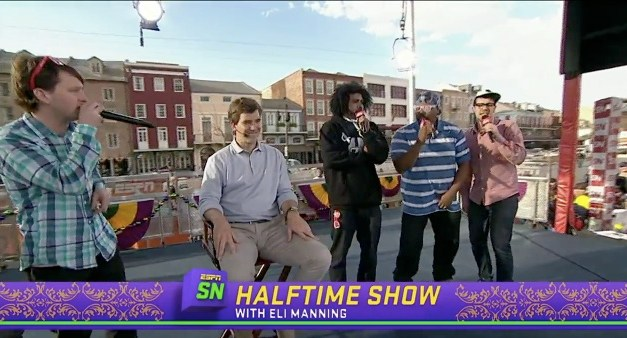 Freestyle Love Supreme joins ESPN's SportsNation for Super Bowl week in New Orleans