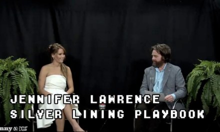 Between Two Ferns with Zach Galifianakis: 2013 Oscar Buzz episode