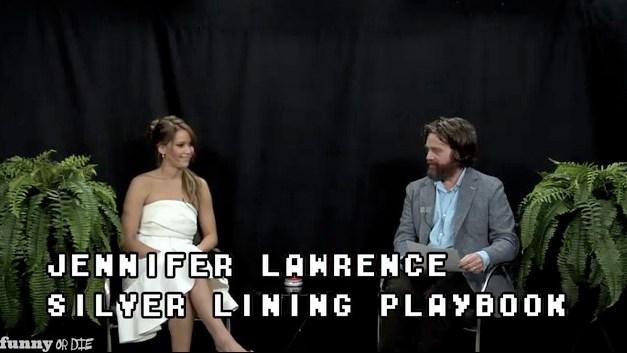 Between Two Ferns with Zach Galifianakis: 2013 Oscar Buzz episode
