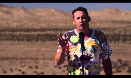 On Conan, Harland Williams explains why he filmed a stand-up DVD in the Mojave Desert
