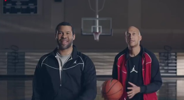 "It's a slam dunk: Key & Peele show off their basketball moves; engage in ""Epic Rap Battle"""