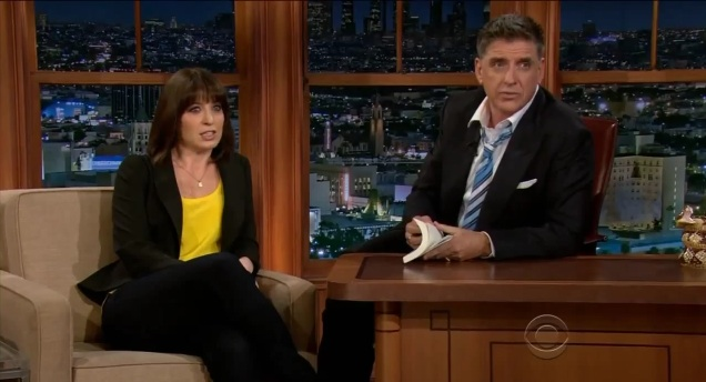 Ophira Eisenberg does stand-up, makes panel on Late Late Show with Craig Ferguson