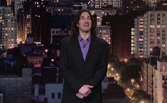 "Gary Gulman on Late Show with David Letterman; buy his CD ""No Can Defend"""