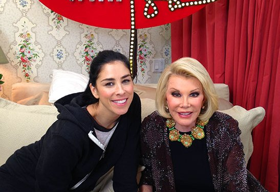 In Bed With Joan: Joan Rivers launches her webseries talk show with first guest Sarah Silverman