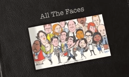 """All The Faces,"" by Creed Bratton, as sung in NBC's ""The Office"" finale"