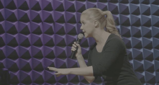 Inside Amy Schumer: Behind the scenes recording her stand-up for the series