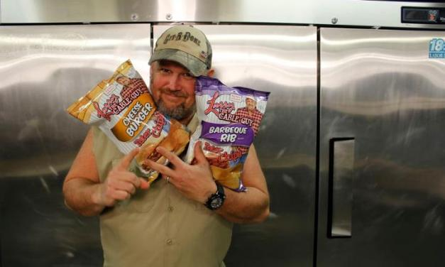 Git-R-Sold! Only in America, Larry the Cable Guy sends his bobblehead into space, talks about the History of his merchandise