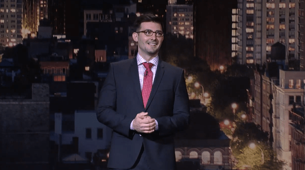 On Letterman, Tommy Johnagin on being a new dad, on having a mother who isn't computer-savvy