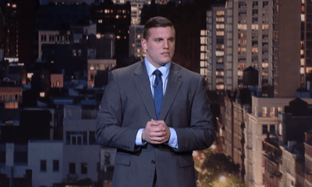 Chris DiStefano's debut on Late Show with David Letterman