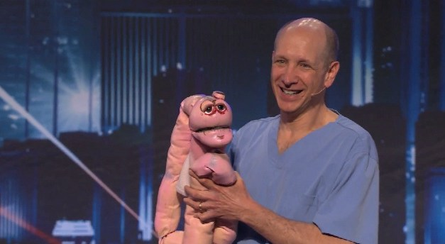 Doctor who performed Howard Stern's colonoscopy is a ventriloquist, auditions for America's Got Talent: Dr. Bob Baker