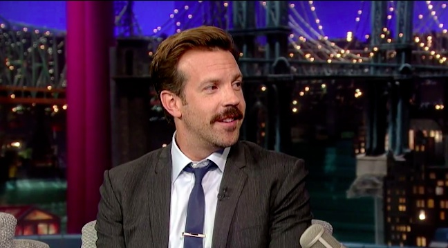 Jason Sudeikis announces his SNL retirement on Late Show with David Letterman