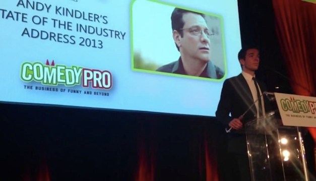 John Mulaney introduces Andy Kindler's State of the Industry 2013