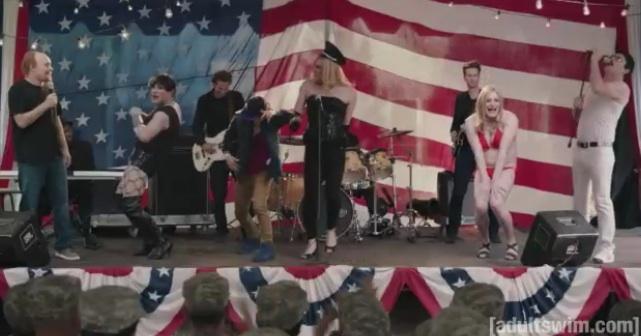 "James Adomian as Louis C.K., Freddie Mercury, Madonna, Kate Upton and Rihanna; on ""Childrens Hospital"