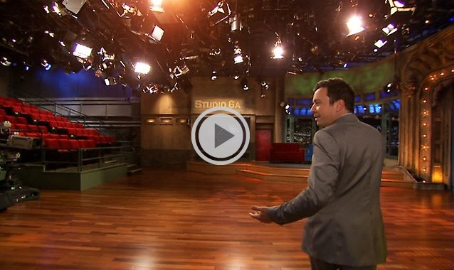 """Late Night with Jimmy Fallon returns to """"Late Night"""" home, Studio 6A in NBC's 30 Rock"""