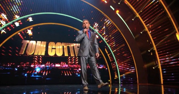 Tom Cotter returns to America's Got Talent for an encore in 2013